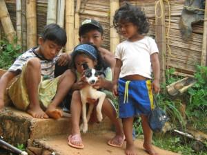 Bambini colombiani