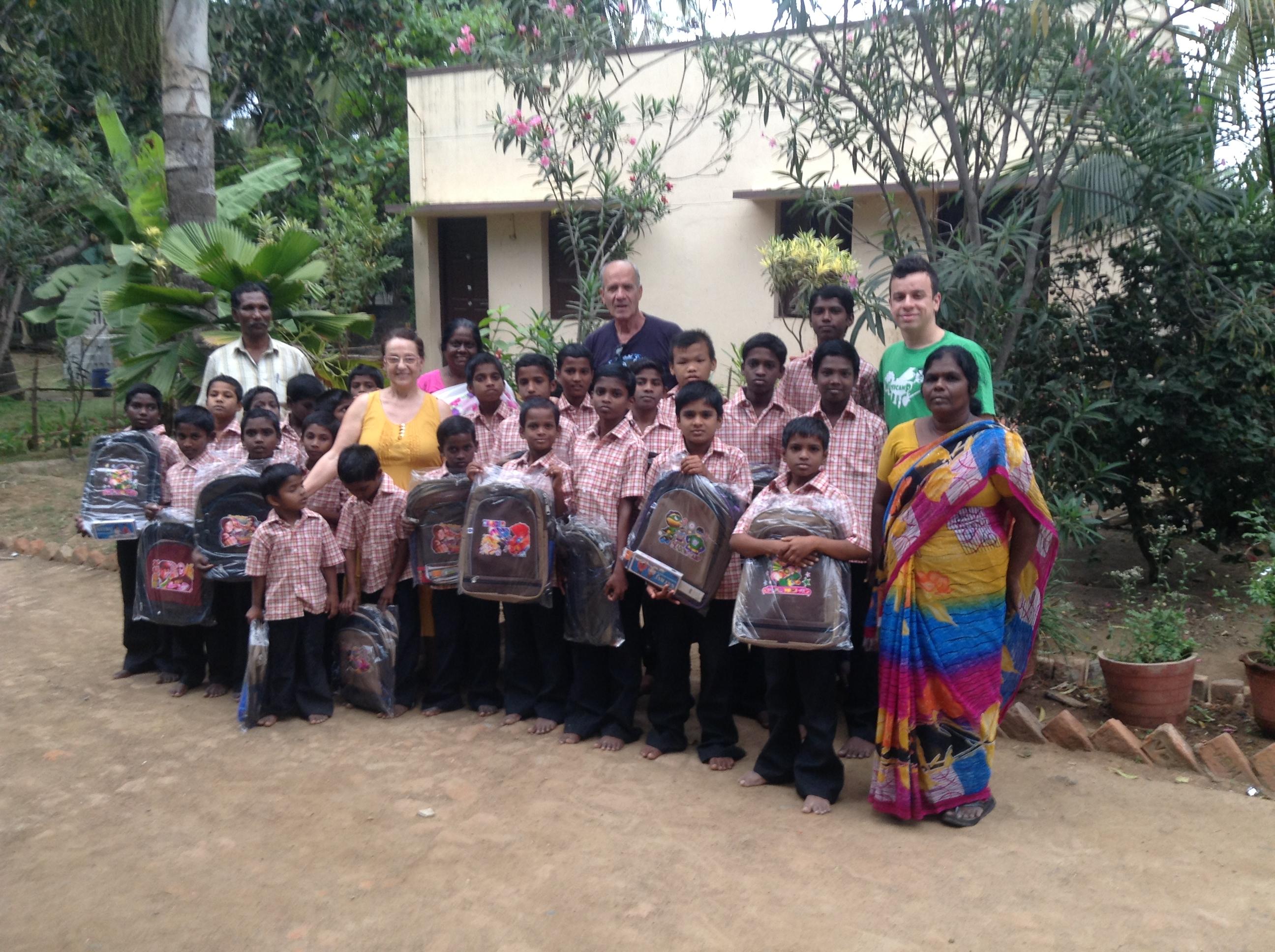 2018 Sostegno orfanotrofi in India