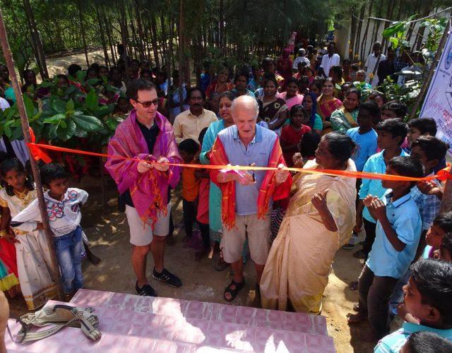 Inaugurato il Pozzo di Punapakkam