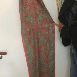 Foulard in seta rettangolare 200x60 cm